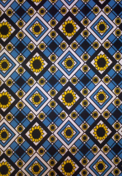 Sunflower Bandana Blue